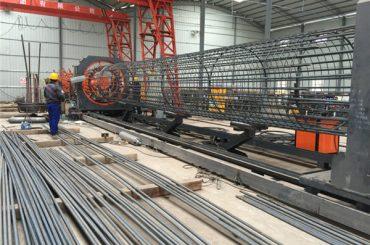 Najlepsza cena spawane maszyny z siatki drucianej, Wzmocnienie szwów spawalniczych średnica 500-2000mm